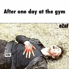 Risultati immagini per gym gif funny