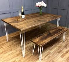 Hairpin dining table Magnolia Image Is Loading Industrialhairpindiningtable rusticvintagefarmhousereclaimed Ebay Industrial Hairpin Dining Table Rustic Vintage Farmhouse Reclaimed