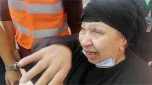 فاطمة كشري باكية في أول ظهور لها من داخل المستشفى : صعبت عليا نفسي - YouTube