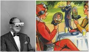Vintage Illustrations Vintage Illustrations Of The Future That Are Pretty Close To Reality
