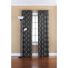 Curtains Mainstays Blackout Solid Woven Window Curtains Set Of 2 Walmartcom