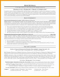 Sample Resume Sales And Marketing Amazing Resume Objective For Pharmaceutical Company Various Sample Resume