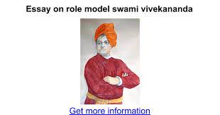essay on role model swami vivekananda google docs
