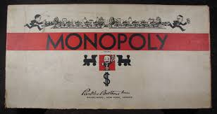 early monopoly game box designs