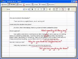 Narrative Story Template In The Narrative Editor Peter Describes His Experience In