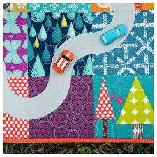 106 best Transportation Quilts for Boys images on Pinterest ... & Scenic Route road quilt | from new book