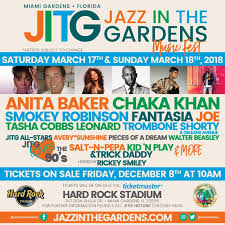 the 13th annual jazz in the gardens jitg festival line up announced