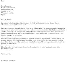 Graduate Program Cover Letter Rn Sample Cover Letter Nursing Cover Letter Template Graduate