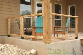modern porch railing patio railing