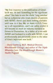 Adhd Quotes Cool General ADHD Resources Gina Pera