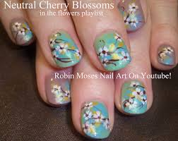 Robin Moses Nail Art: Cherry Blossom Nail Art 2016 Full Length ...