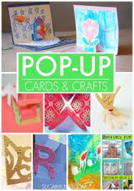 pop up cards and craft ideas for kids