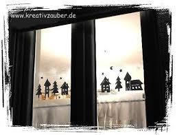 Fensterdeko Im Winter Anleitung Und Vorlage