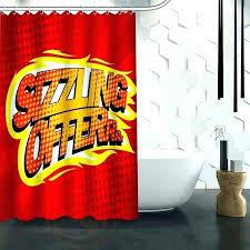comic book shower curtain hot custom pop art waterproof fabric for marvel