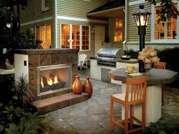 image of diy outdoor fireplace plans free