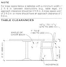 dining room table dimensions