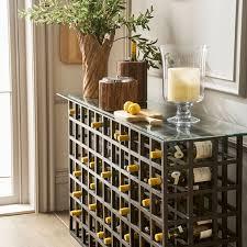 wine rack table. Beautiful Table Cricova Wine Rack Console Table OKA U S Inside Tables Decorations 4 On S