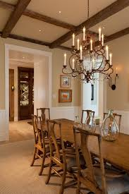 miami wooden wine barrel chandelier dining room traditional with rustic wood beige wall mirrors bonita springs