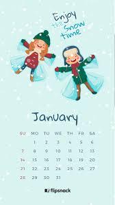 640 1136 desktop calendar wallpaper january