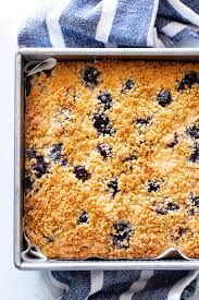 This blueberry coffee cake is blurring the lines between breakfast, brunch and dessert and i'm not mad about it. Lemon Blueberry Coffee Cake Gluten Free Paleo
