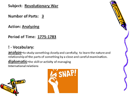 deconstructing essay questions p analyze the political  subject revolutionary war number of parts  action analyzing period of time