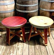 wine barrel outdoor furniture. Large Size Of Wine Barrel Side Table Ideas End Tables Outdoor Furniture