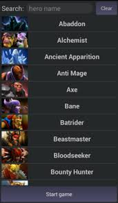 easy pick for dota 2 new android app polycount