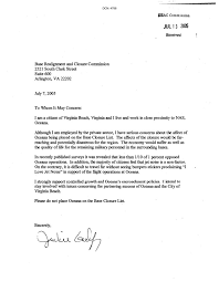 letter expressing concern community letters to the commission from oceana air base expressing