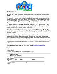 parent teacher conference letter to parents examples sample invitation letter parent teacher conference sample