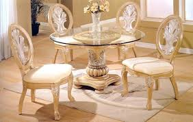 glass top dining table round glass top dining room table home design and home gallery glass
