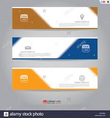 Flyer Header Template Of Banner Brochure Flyer And Card Voucher For