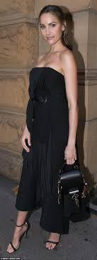 Rachael Finch looks svelte for Fashion Week Daily Mail Online