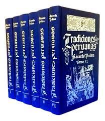 libros tradiciones peruanas de ricardo