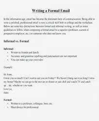 Format Of Formal Email To Principal Writing Cbse For Class