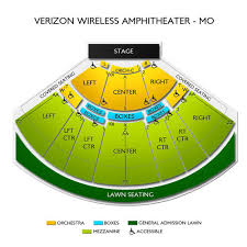 Hollywood Casino Amphitheatre St Louis Seating Chart Hollywood Casino Amphitheatre St Louis 2019 Seating Chart