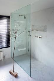 modern walk in bathrooms. chic modern shower that seems one space with the bathroom walk in bathrooms