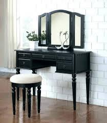 black vanity table with mirror bedroom vanities desks black vintage dressing table without mirror