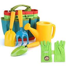 fitnate green kids garden tools set 6