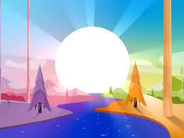 Sunrise Landscape And Design Sunrise Landscape By Julio Salvador On Dribbble