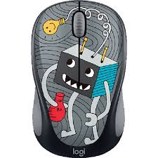 Купить <b>мышь Logitech M238</b> Doodle Collection Lightbulb в ...