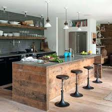 Rustic Kitchen Island Ideas Cool Decoration