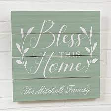 When you buy a red barrel studio® bless this house wall décor online from wayfair, we make it as easy as possible for you to find out when your product will be delivered. Bless This House Wooden Wall Slat Sign Bed Bath Beyond