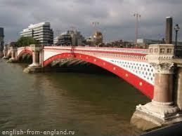 bridges over the river thames in london Мосты над речкой Темза в  Железнодорожный мост