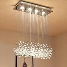 flush mount led ceiling light fixtures saint mossi modern k9 crystal raindrop chandelier lighting flush mount