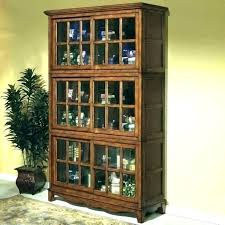 bookcases with sliding glass doors solid wood bookcase barrister