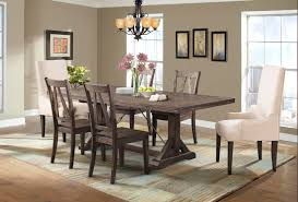 charming parsons chairs for your dining room design finn 7pc dining set parsons chairs