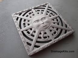 Decorative Metal Grates Decorative 12 X 12 Cast Iron Grate Stepping Stone