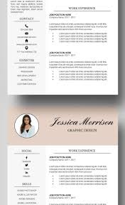 Free Downloadable Creative Resume Templates Free Downloadable