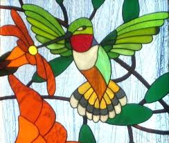 stained glass hummingbird stained glass patterns pattern gallery panel