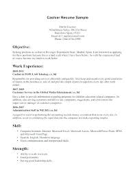 Resume Objective Cashier Best of Resume Objective For Cashier Resume Ideas For Objective Cashier